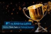 FGV é o 6º melhor Think Tank do mundo e 1ª na América Latina pelo 3º ano consecutivo; em Políticas Sociais conquistou o 5º lugar e o 1º na América Latina