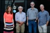 Foto:Integrantes do Comitê da Conferência (da esquerda para a direita): Jocelyn Finlay (Harvard), David Lam (Diretor do ISR – Michigan), Murray Leibbrandt (Cape Town U.E) e Marcelo Neri (FGV Social).